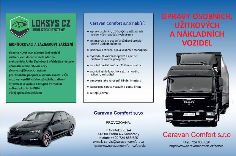 Autoservis CaravanComfort