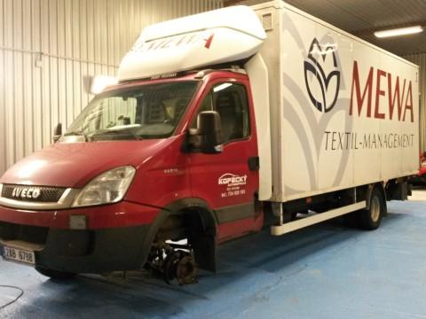 Autoservis dodávkových vozidel - Caravan Comfort